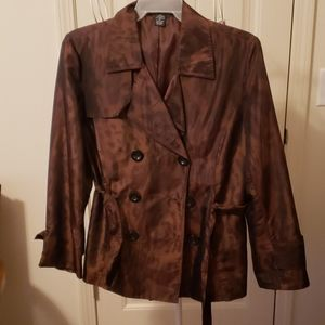 Womens scott taylor trench style jacket